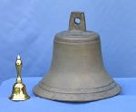 "13"" Bronze Church Bell"