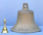 "13.5"" Bronze Church Bell"