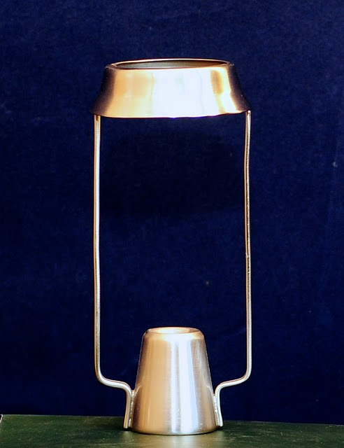 Candle Shade Carrier Pewter