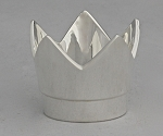 Crown Tealight, Silver