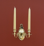 Double Arm Oval Sconce, Imperfect