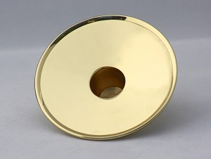 Pillar Adapter in Brass, Small
