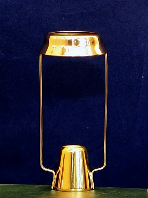 Shade Carrier, Polished Brass