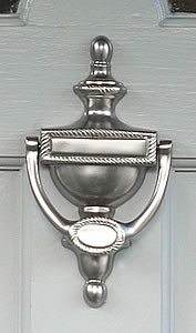 Plymouth Doorknocker, Pewter