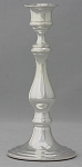 Tidewater Candlestick, Medium Silver