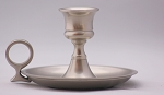 Colonial Chamberstick in Pewter