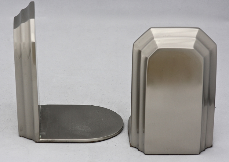 Classic Bookends in Pewter