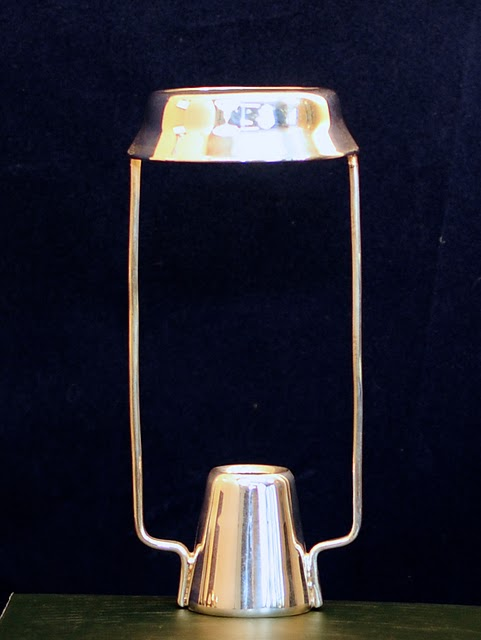 Candle Shade Carrier, Silver