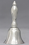 Classic Hand Bell, Silver