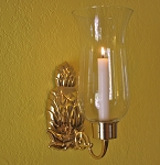 Hurricane Pineapple Sconce