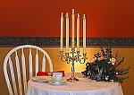 Five Arm Candelabra