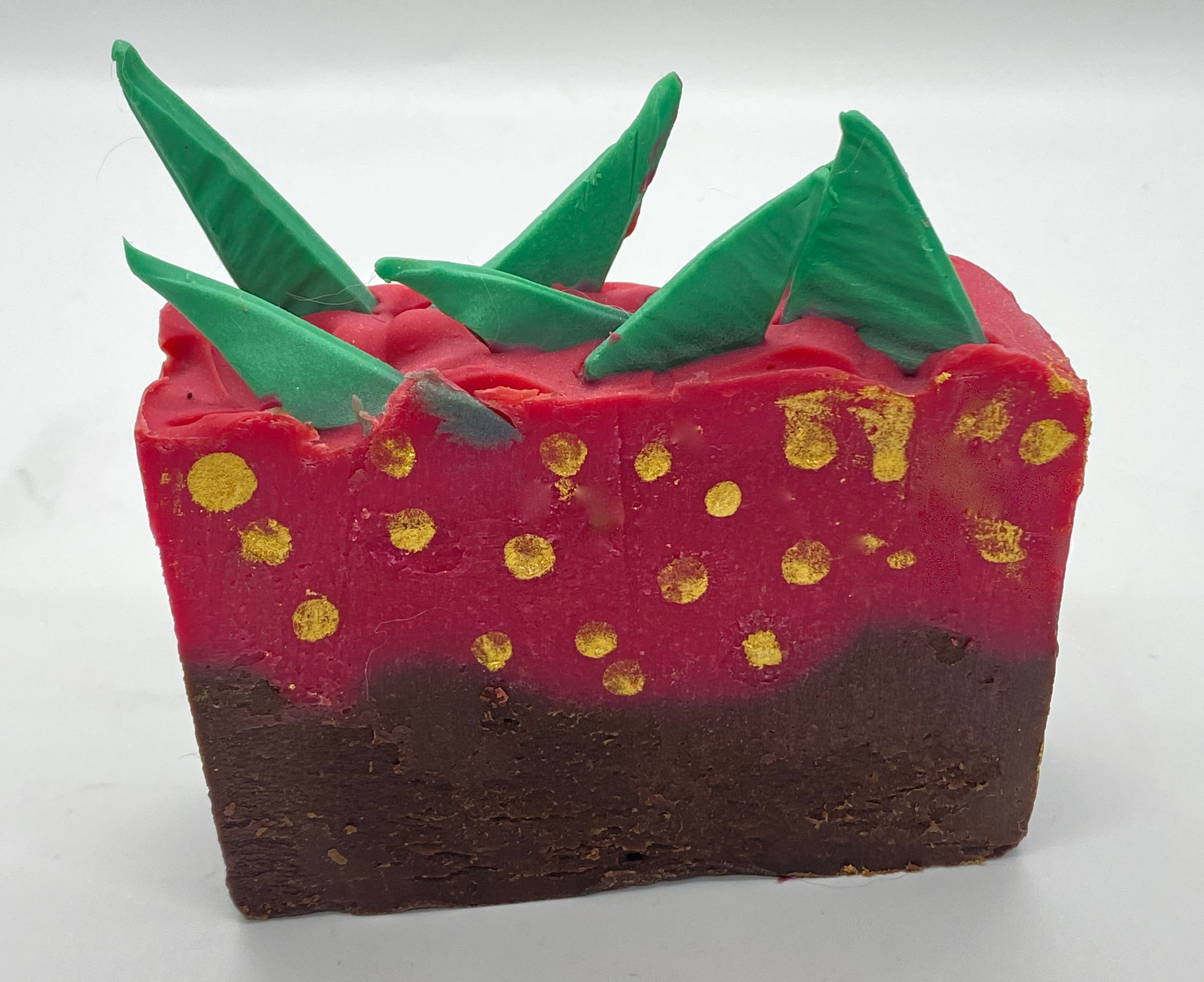 Pretty Wick'd Chocolate Covered Strawberry Soap
