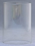 Clear Glass Cylinder Shade, 3 x 4