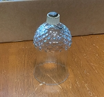 Vintage Hobnail Bottom Pegged Votive Holder