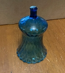 Vintage Blue Pegged Votive Holder