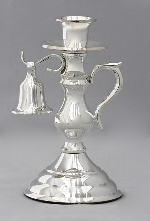 Old Holland Snuffer Candlestick, Silver
