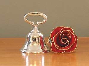 Hostess Bell, Silver Imperfect