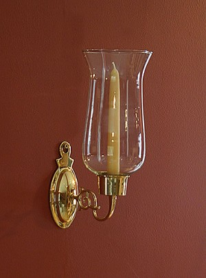 Oval Hurricane Sconce