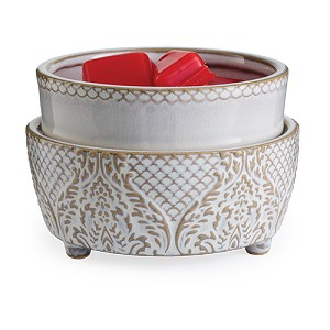 Vintage White Fragrance Warmer